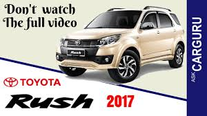 toyota company details toyota rush carguru ह न द म engine interior price