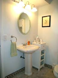 pedestal sink bathroom ideas smallest pedestal sink to fresh for small bathroom pictures lowes