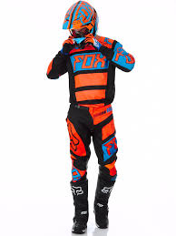 fox racing motocross gear fox black orange 2017 180 falcon mx jersey fox freestylextreme