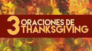 oraciones para thanksgiving o día de acción de gracias