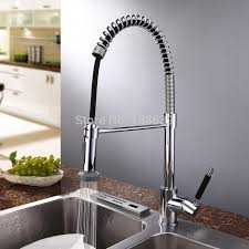 Quality Kitchen Faucet High Quality Brass Pull Out Kitchen Faucet Deck Mounted