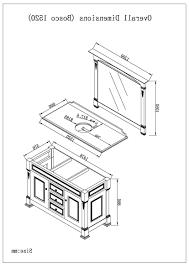 Standard Height Bathroom Vanity by Bathrooms Design Ideas Standard Bathroom Basin Height In