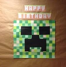 minecraft backdrop minecraft backdrop minecraft party decoration