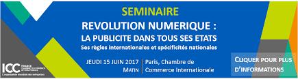 chambre commerce internationale 15 06 2017 annulé participation de l arpp au séminaire des