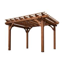amazon com backyard discovery cedar pergola 12 u0027 by 10 u0027 garden