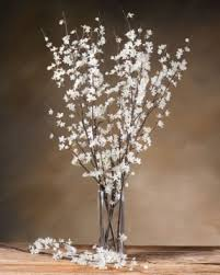 Single Stem Glass Vase Silk Flower Arrangements In Vases Foter