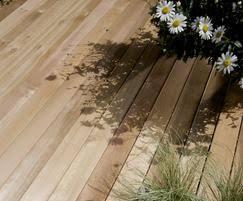 cedardeck western red cedar decking silva timber esi