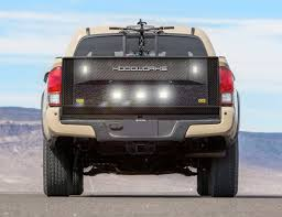 toyota tacoma tailgate hoodworks launches geargate for toyota tacoma hoodworks