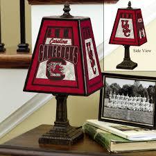 New York Giants Home Decor Usc Trojans Art Glass Table Lamp Sports Merchandise