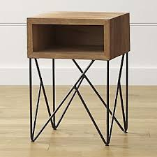 crate and barrel accent tables metal end tables crate and barrel