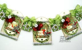 twas the night before christmas banner with graphic45 1 polly u0027s