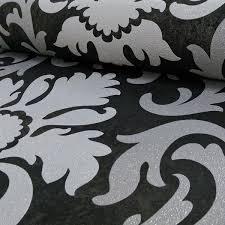 white glitter wallpaper ebay p s silver carat glitter wallpaper geometric damask stripe