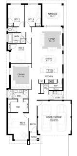 Narrow House Plan 653501 Warm And Open House Plan For A Narrow Lot House Plans Floor
