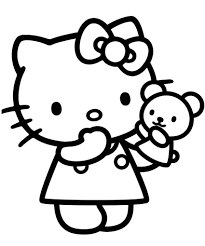 kitty coloring pages 60 pictures print color