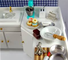 miniature dollhouse kitchen furniture the mouse market