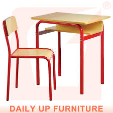 Wooden Student Desk Folding Student Desk And Chair Classroom Study Desk With Chair