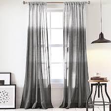 Grey Ombre Curtains Ombre Window Curtains 100 Images Vue Signature Arashi Ombre