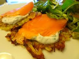 recette de cuisine simple et bonne röstis de pommes de terre ricotta saumon fumée la cuisine de nelly