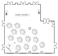 floor plans of event spaces at o henry hotel greensboro nc