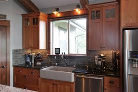 cherry shaker kitchen cabinet doors affordable custom cabinets showroom