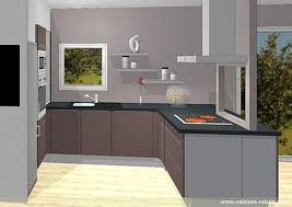 cuisine en u avec ilot cuisine en u avec ilot 3 cuisine en u stratifie fonce cuisines