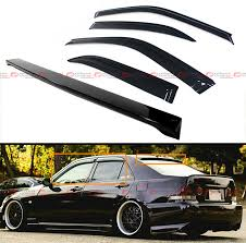lexus is200 car parts ebay for 2001 05 lexus is300 glossy black rear roof spoiler wing