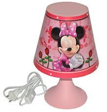 stehlampe kinderzimmer tischlampe disney minnie mouse 30 cm hoch magische lampe
