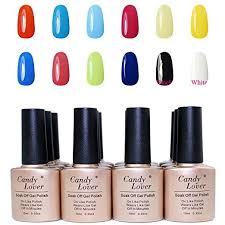 buy candy lover brand nail gel polish 10ml uv soak off gel nails