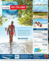 aruba all inclusive vacation packages toronto departures