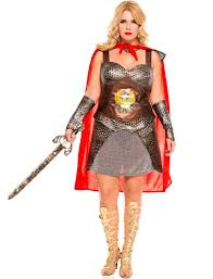 roman halloween costumes music legs brown copper red roman warrior princess xena