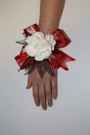 Red Prom Corsage Prom Corsage Carnation Corsage In Huntsville Al Petals And Blooms
