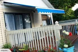 Awning Photos 2 5 X 2m Retractable Blue Or Multi Colour Awning Trade Me