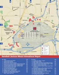 Atlanta Airport Map Delta by Hartsfield Jackson Atlanta International Airport