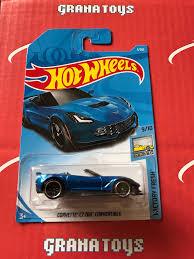 hotwheels corvette corvette c7 z06 convertible 5 2018 wheels a grana toys