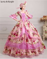 marie antoinette inspired masquerade dress floral rococo dress