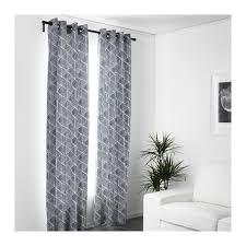Ikeas Curtains Nunnerört Gordijnen 1 Paar Blauw Wit Sitting Rooms Bedrooms