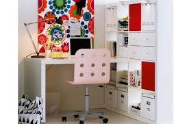Ikea Expedit With Desk Ikea Bookcases So Many Ways To Use Them The Decorologist