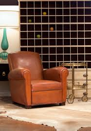 Leather Club Chair Swivel Decor Brown Leather Club Chair With Stripe Rug And Side Table For
