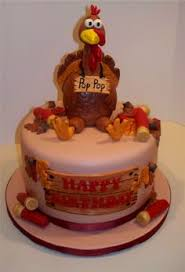 it is supposed to be a thanksgiving turkey cake wrong