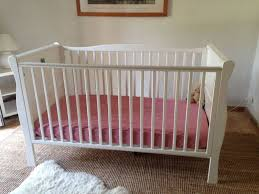 Sleigh Cot Bed Kiddicare Sleigh Cot Bed White In Chelsea London Gumtree