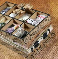 wood photo album s keepsakes wood collage box mini albums
