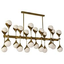 Italian Chandeliers Italian Chandelier In The Manner Of Max Ingrand Circa 2010 For