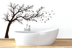 wandtattoos fã rs badezimmer badezimmer wandtattoos wandtattoo grosser baum im spruche vogelmann