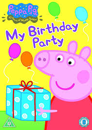 peppa pig birthday peppa pig my birthday party and other stories volume 5 dvd