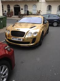 gold chrome bentley gold chrome bentley