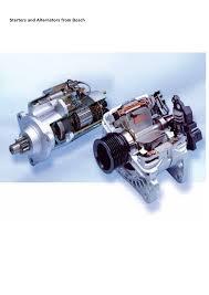 bosch starter motors and alternators documents