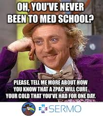 Bronchitis Meme - just give me a zpack what s the harm sermo