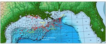 Northern Mexico Map by Northern Gulf Of Mexico Structural Framework