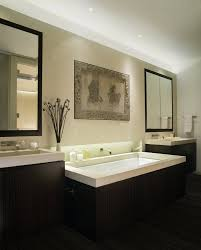 tubs for two bathroom beach with beige countertops bridge faucet