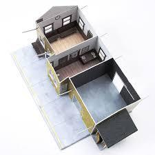 Model Building Desk Cricket Railroad Depot Paper Model Kit Team Track Models